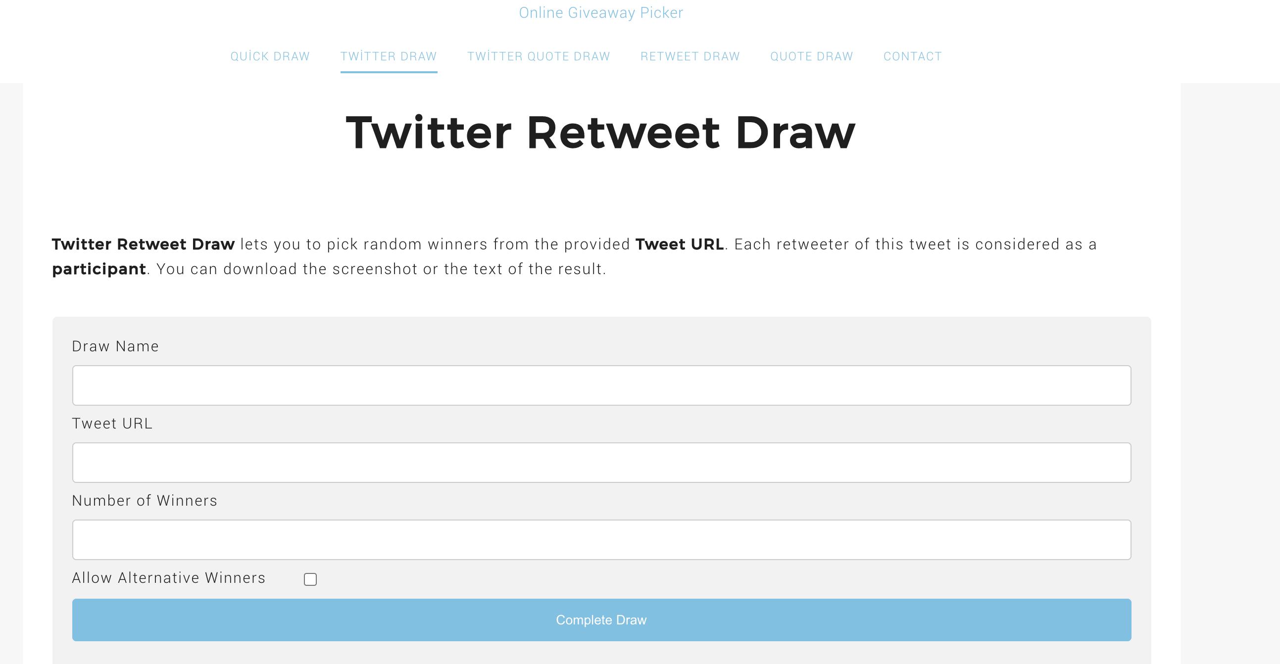 tweet-draw.com